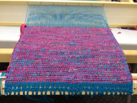 Lansing class on the loom