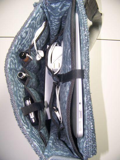 Inside Computer Bag